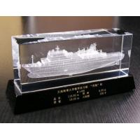 China Fine quality 3D laser engraving crystal business gift on sale