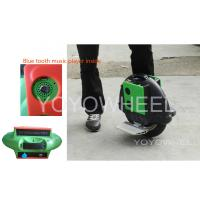 Quality Black Self Balancing Electric Scooter with bluetooth controller / music player for sale