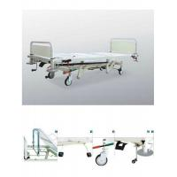 Quality Adjustable Hydraulic Hospital Beds , Mobile Ward Beds For Emergency Care for sale