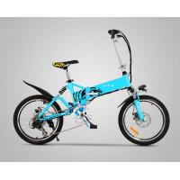 "Quality Long Range Electric Folding Bicycle 20"" Folding E Bike With Shock Absorber for sale"