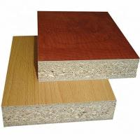Quality 1220*2440mm Size Melamine Faced Chipboard Non Toxic Poplar / Pine Material for sale