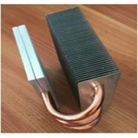 Quality OEM Fin Copper Heat Sink Customized Copper Pipe HeatSink For Passivite Surface Mount Device for sale
