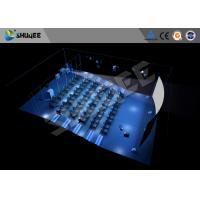 Quality Hydraulic 4D Cinema 5D 6D 7D  Imax Movie Theater Equipment With Dynamic Seats for sale