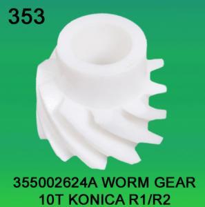 Quality 355002624A / 3550 02624A WORM GEAR TEETH-10 FOR KONICA R1,R2 minilab for sale