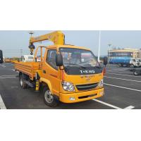 Quality TANGJUN Lorry truck with crane for sale