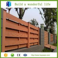 Quality Solid decking composite WPC engineered wood lumber factory price for sale