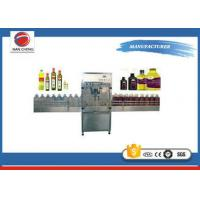 Buy Detergent Lotion Auto Oil Filling Machine Stainless Steel High Stability PLC Control at wholesale prices