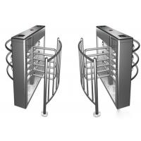 Quality Semi Automatic Security Half Height Turnstile Compatible IC / ID Card for sale