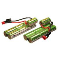 Quality 8.4V 600mAh Airsoft Gun NIMH Battery Packs , Wires And Terminals for sale