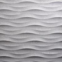 Quality Natural Stone 3D Wavy Interior Stone Wall Veneer Tile for sale