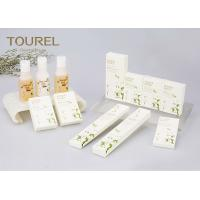 Quality Natural Plant Essence Luxury Hotel Bathroom Amenities Kit Customied Logo for sale