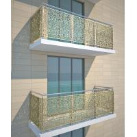 Quality Metallic Color Aluminum Partition For Column Cover/Cladding for sale