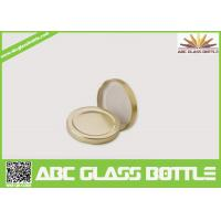 Quality Gold Supplier Of Tinplate Screw Twist Off Glass Bottle Cap for sale