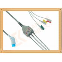 Buy 8 Pin Nihon Kohden Ecg Cable / 3 Lead Ecg Cable Grabber IEC at wholesale prices