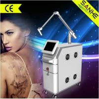 China ND yag Laser Tattoo Removal machine with black doll for face treatment on sale