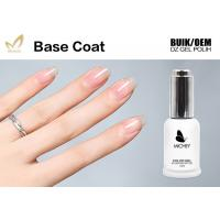 Quality Soft No Harm Rubber Base Gel For Nails , Durable Gel Polish Base Coat In Bulk for sale