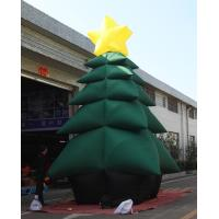 Quality 5m High Inflatable Christmas Decorations / Advertising Blow Up Christmas Tree for sale