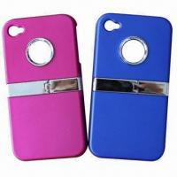 Quality Mobile Phone Cases for iPhone 4S, Made of Silicone/Dust-proof/Custom Printed Logos, Colors Accepted for sale