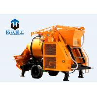 IOS Certification Concrete Mixer Pump Large Capacity Diesel Engine For Tunnels