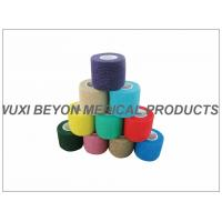 Buy Latex - free Cohesive Hand Elastic Bandage , Self - adhesive Breathable Bandages at wholesale prices