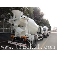 Buy cheapest price of dongfeng 4cbm 190hp concrete mixer truck for sale at wholesale prices