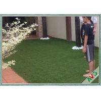 V Shaped Green Outdoor Artificial Grass Comfortable Courtyard Artificial Grass Turf