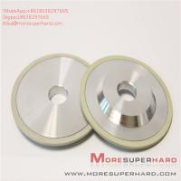 Quality 3A1 Ceramic bonded diamond disc type superhard material grinding wheel Alisa@moresuperhard.com for sale