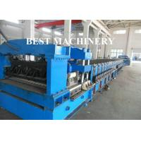 Quality 2mm Thickness Metal Corrugated Roof Roll Forming Machine Water Tank Usage for sale