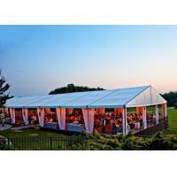 Quality Ceremony Huge Wedding Party Tent Aluminum Alloy 6061T6 Material Easy Maintain for sale