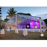 Quality Party Marquee Clear Span Tent Aluminum Tent For Restaurant ,  Wedding European Style for sale