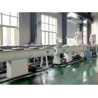Quality Large Diameter Pe Pipe Extrusion Line / Pe Pipe Making Machine Stable Performance for sale