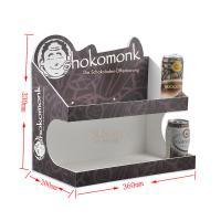 Buy Fashion Food Display Trays More Layer / Acrylic Juice Paper Display Stand at wholesale prices