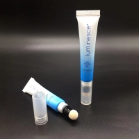 Buy cheap Oval Soft Empty Tube Cosmetic Containers Plastic Tubes Packaging for Cosmetics from wholesalers