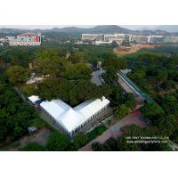 25m Wide Customized Luxury Wedding Tents With High Peak / Outdoor Exhibition Tents for sale