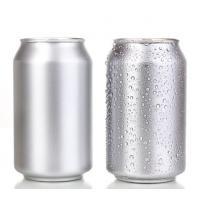 Quality Empty Blank Aluminum Cans Mini 250ml Blank Soda Cans Pressure Resistance EU Standard for sale
