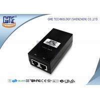 Quality 12v 800MA POE Power Adapter Black Ethernet Power Adaptor 47Hz - 63Hz for sale