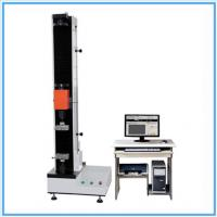 Quality Fiber Tensile Universal Testing Machine / Manual Tensile Tester With Double Space for sale