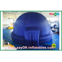 Buy cheap Black Inflatable Planetarium Dome Projection Cloth For Teaching from wholesalers