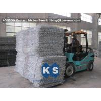 Quality Double Twisted Gabion Box Retaining Wall Structure Wire Diameter 2.7mm for sale