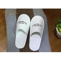 Quality Washable Ultra Cosy Custom Hotel Slippers Waffle Slippers For 5 Star Hotel for sale