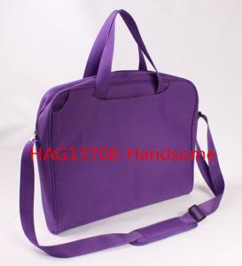 Quality Purple color briefcase promotion shoulder bags-HAG13708 for sale