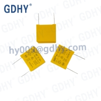 Quality 2.2uF 225nF X2 Suppression Induction Capacitors 310V Box Type for sale