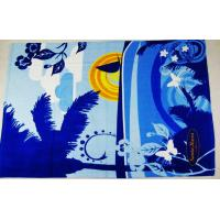 Quality compressed beach towel, printed beach towels/promotional beach towels for sale