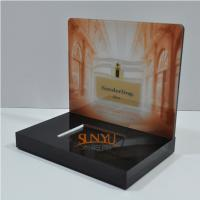 Buy Laser Cutting Craft Cosmetic Display Rack Respectively Perfume Show at wholesale prices