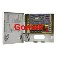 Quality 4 Channel CCTV Camera Power Supply Box , Security CCTV Power Supply 12v 5amp Long Service Life for sale