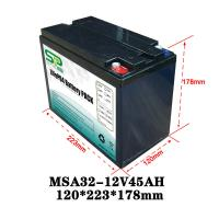 Quality High Capacity 12 Volt Lithium Battery Pack Electric Tools Power Supply Customized for sale