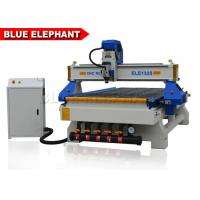 China 3 Axis CNC Router Wood Engraving Machine Italy Leadshine 860H Driver on sale