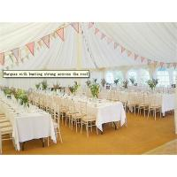 Buy cheap Hard Pressed Extruded Aluminum Alloy High Peak Wedding Event Tents For Party And Events from wholesalers
