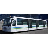 Quality Custom 77 Passenger Ramp Bus Airport Tarmac Bus , <13500mm Turning Radius for sale