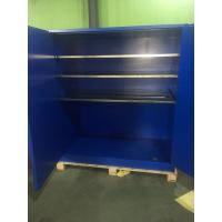 Quality 90 Gallon Venting Flammable Cabinets , Pesticide Storage Cabinets For Corrosive Liquids for sale